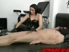 German mistress brutal urethral sounding