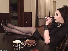 Mistress Bojana - Eat From My Boots