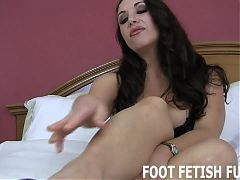 My bare feet are your playthings