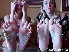 We know you are obsessed with our feet