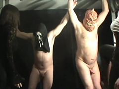 SCARY BALLBUSTING MOVIE