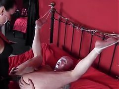 femdom big strapon fucking her slave cock music by ivvill