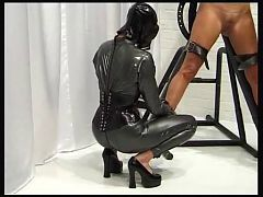 Two Mistress with slave