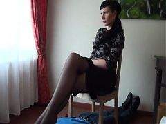 Nylon footstool