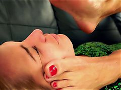 Foot Fetish - Two beautiful girls Sole Licking and Toe sucking