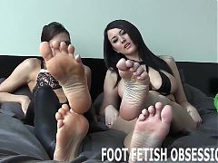 Suck my toes and stroke your cock JOI