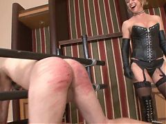 HARD HUMILIATING CANING BY BREANNA BEACH