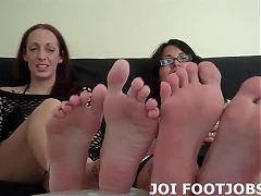 I know how obsessed you are with my feet