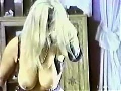 Vintage Saggy Tits Filthy Golden Shower  Huge Cumshot