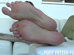 My stinky feet need to be tongue cleaned