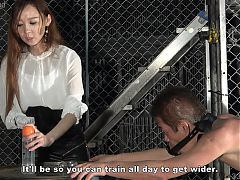 Japanese Femdom Risa Anal Training Complete