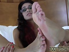 I will wiggle my little toes right in your face