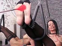 Brutal torture of men