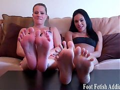 My perfect feet were made to be worshiped