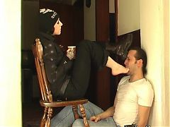 Mistress Bojana - Feet Licking And Washing