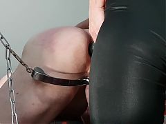 Mistress No.1 hardcore CBT and pegging