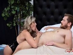 Cory Chase Punished By Stepson and Stepdaughter