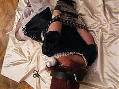 transvestite bound and punished!