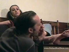 Mistress Bojana - Feet Licking